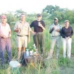 Na Safari v JAR s přáteli, 2004