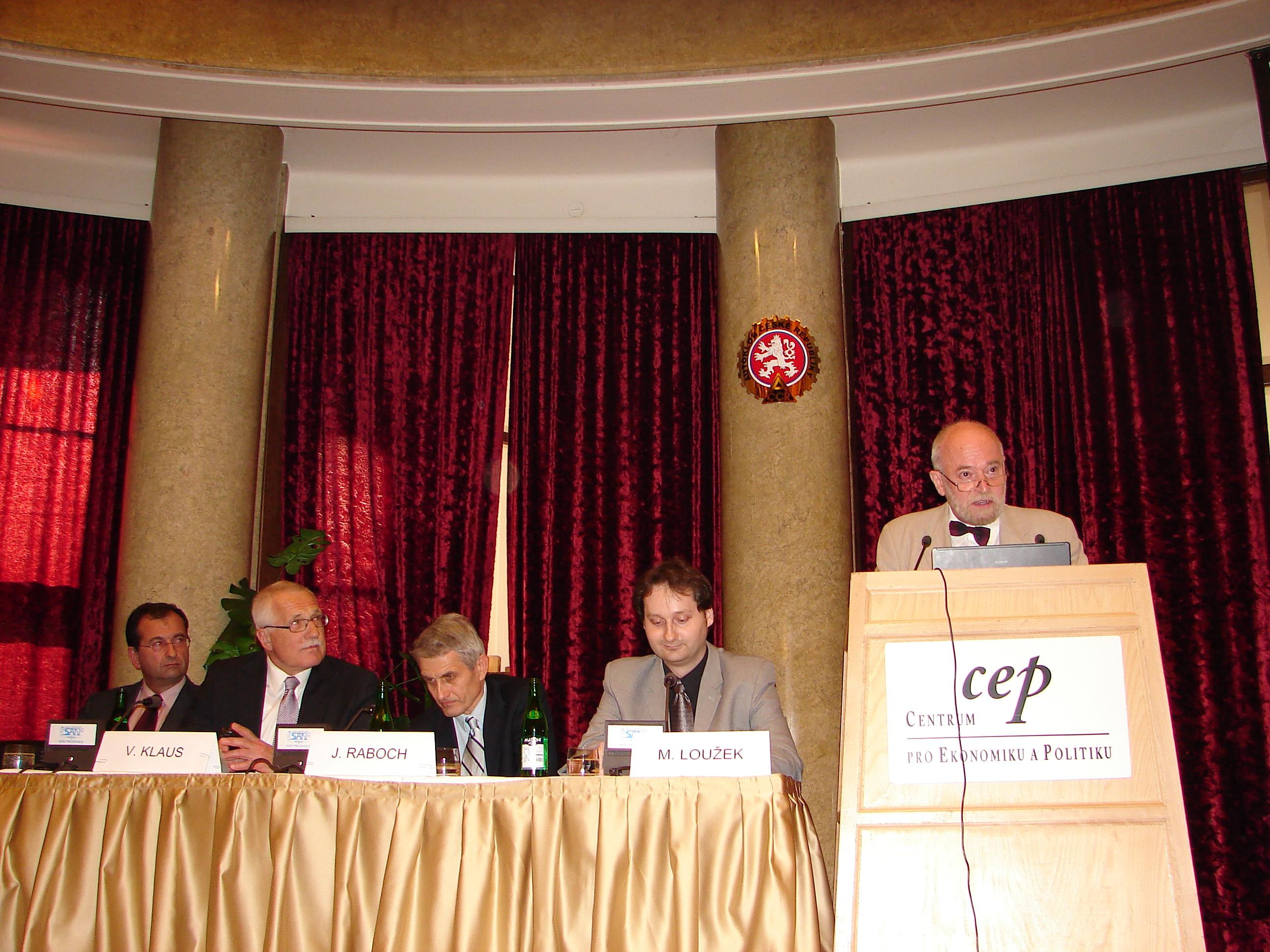 Seminář k výročí narození S. Freuda, CEP, Praha 2006