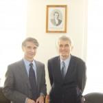 S profesorem Valerijem Krasnovem v jeho moskevském institutu, 2006