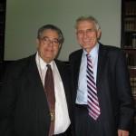 S prezidentem Světové psychiatrické společnosti prof. Pedro Ruizem, 2011 Buenos Aires