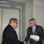 Předání čestného členství Spolku lékařů českých, prof. Miloš Grimm, Praha 2011