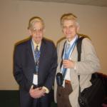 John Forbes Nash, nositel Nobelovy ceny za matematiku, léčený pro schizofrenii, Madrid 2008