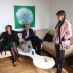 Návštěva soukromého psychiatrického sanatoria v Zurichu s prof. Annnou Wirz-Justice, 2012