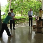 Rehabilitace v psychiatrické léčebně blízko Bangkoku, Thajsko 2007