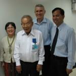 Bývalé a současné vedení Thajské psychiatrické společnosti, Bangkok 2007