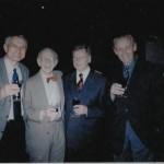 S nositelem Nobelovy ceny za fyziologii a medicínu Ericem Kandelem, konference EPA Stockholm 2002
