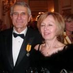 28.10.2012 na pražském Hradě s manželkou Hanou
