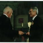 28.10.2012 předání státní ceny za zásluhy prezidentem Václavem Klausem na pražském Hradě